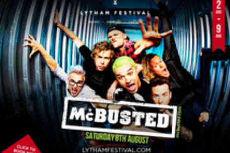 Cuffe & Taylor Touring - Tickets to McBusted at Lytham Festival - Save 0%