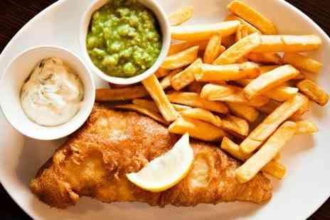 The Red Lion Inn - Fish and Chips For Two - Save 50%