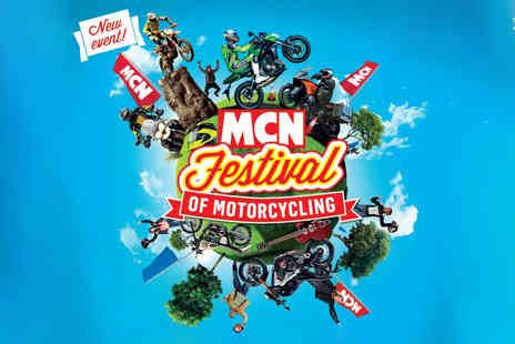MCN - Tickets to the MCN Festival of Motorcycling at Peterborough Arena with Digital Magazines - Save 30%