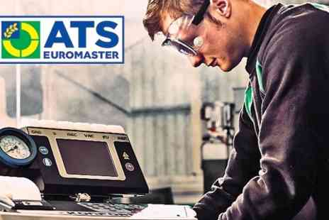 ATS Euromaster  - Car Air Con Recharge and Anti Bacterial Clean - Save 40%