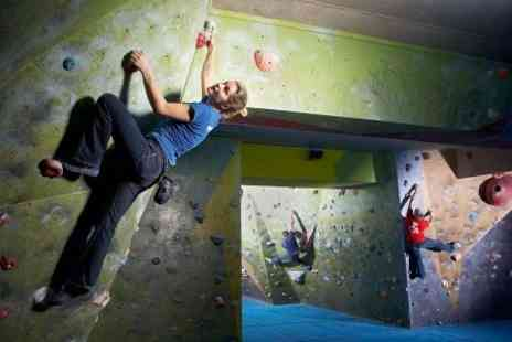 The Climbing Academy - Indoor Climbing Induction and Session - Save 67%