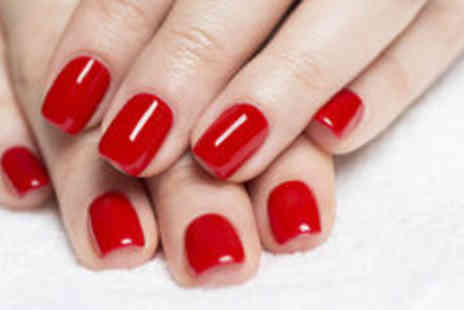 Nail Candy by KD -  Shellac manicure or pedicure, or both treatments - Save 0%