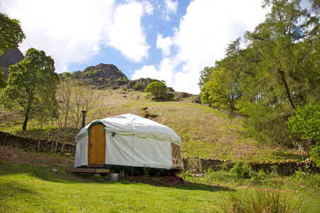 Inside Out Camping - Four night glamping break in a yurt for up to 4 - Save 64%