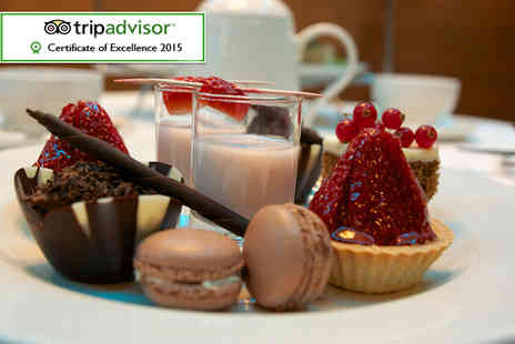 Thistle Euston Hotel - Afternoon tea for 2 including sandwiches, scones and more - Save 60%