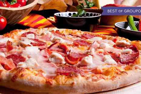 Mamma Mia - Pizza or Pasta With Dessert For Two  - Save 51%