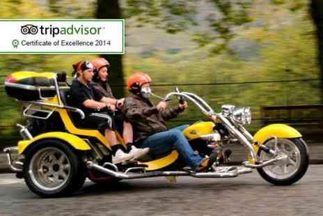 Trike Tours Scotland - One hour trike tour for 2 including equipment, photos, whisky and shortbread - Save 61%