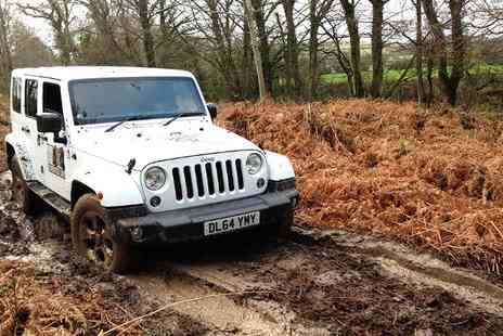 4x4 Events - Jeep Off Road Driving Experience For Up to Three  - Save 43%