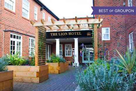 BEST WESTERN Lion Hotel - One or Two  Nights stay For Two With Breakfast and Prosecco -  Save 60%