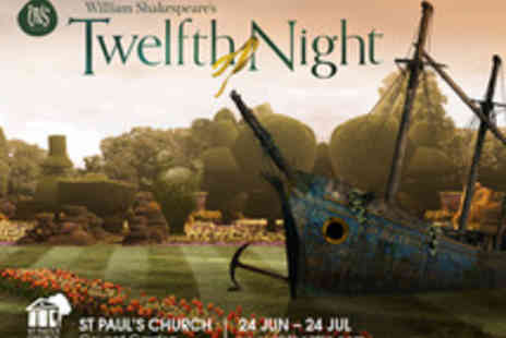 Iris Theatre - No Booking Fee Tickets to Covent Garden Open Air Performance of Twelfth Night - Save 0%