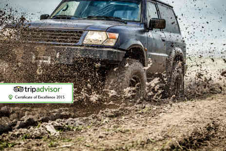 Experience The Country - Off road 4x4 driving experience for 2  - Save 55%