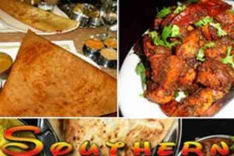 The Southern spice - Spice up your life by paying for a meal for 2 at Glasgows sensational Indian restaurant - Save 58%