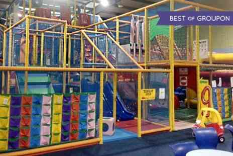 Gokidsgo - Entry to Soft Play and Laser Arena  For Two  - Save 50%