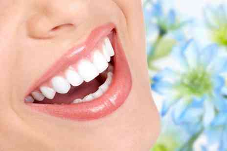 Capital Dental - Set of clear braces on either your top or bottom arch  - Save 53%