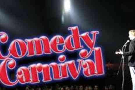Comedy Carnival - Entry to live comedy and a choice of drinks for two - Save 68%