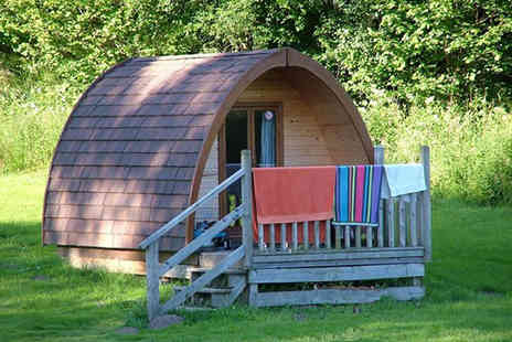 Kielder Village  - Two night Pod camping experience for four people  - Save 35%
