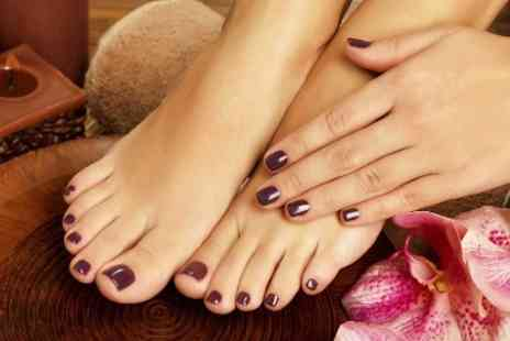 39 Beauty - Gel Manicure or Pedicure  - Save 0%