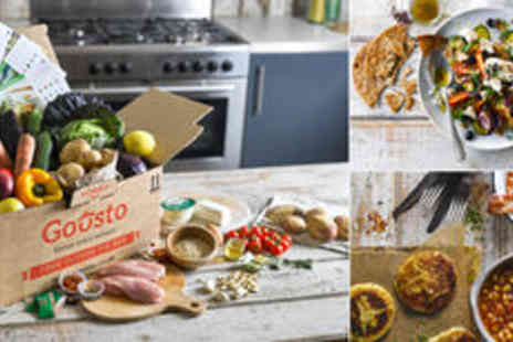 Gousto - Goustos organic recipe kits - Save 0%