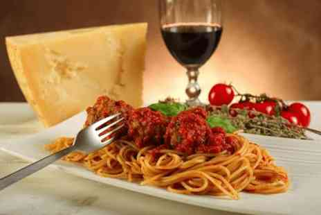 Romanos Restaurant - Three course Italian set menu for two with a glass of wine & coffee  - Save 0%