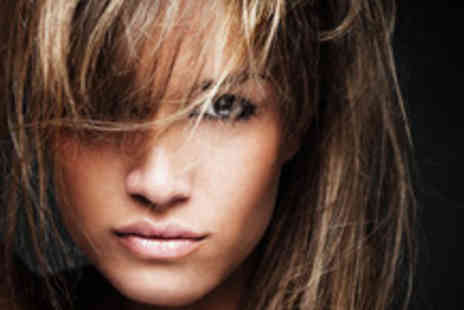 Angels Hair and Beauty - Half head of highlights or a full head of colour, plus a cut and blow dry - Save 64%