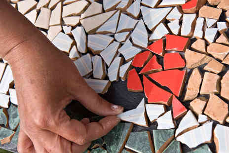 Go Create - Two Hour Mosaic Craft Taster Session or Three Hour Lino Cut Printing Taster Session - Save 55%