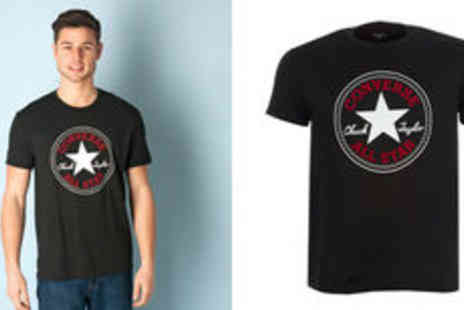 GetTheLabel.com - Men's Converse Chuck Taylor crew neck T shirt  plus delivery - Save 0%