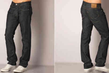 GetTheLabel.com - Men's Jack Jones Clark regular fit dark wash jeans  plus delivery* - Save 0%
