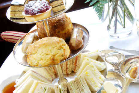 The Grand Hotel - Afternoon Tea for Two with a Glass of Sparkling Wine Each for Two  - Save 50%