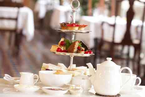 Stratton House Hotel - Afternoon Tea With Sparkling Wine For Two - Save 53%