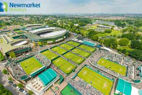 Newmarket Holidays - No.1 Court Ticket to Wimbledon Finals and Return Coach  Per Person Or 1 Night With Ticket  - Save 0%