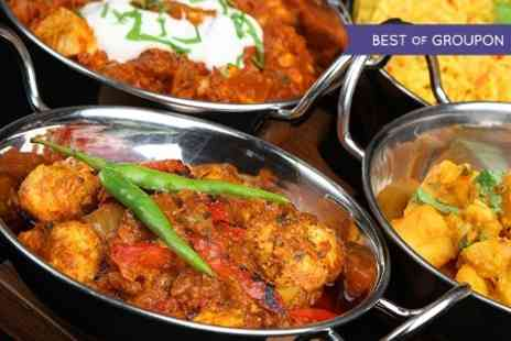 The Raj - Two Course Indian Meal For Two - Save 52%
