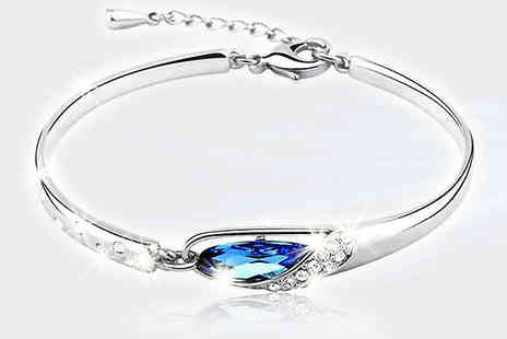 Finishing touch - Angel Tear Bracelet - Save 88%