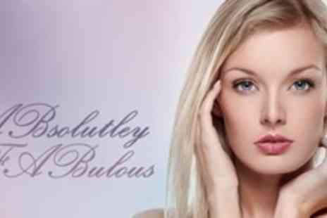 ABsolutely FABulous - Choice of Facial With Luxury Manicure Plus Foot File and Polish - Save 73%