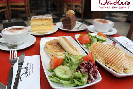 Druckers Vienna Patisserie - Exclusive Druckers Lunch Offer for Two - Save 45%