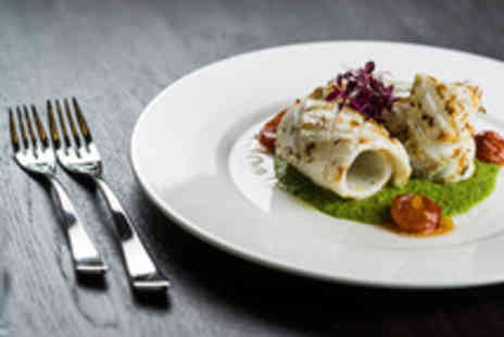 Aquila - Modern European Two Course Lunch for Two with Prosecco - Save 46%