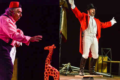 Chaplins Circus - Childs or adult  ticket to Chaplins Circus  - Save 56%