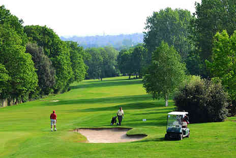 Coombe Wood Golf Club - 18 Holes of Golf with Lunch for Two  - Save 59%