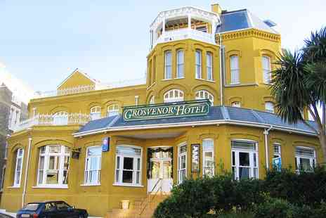 Grosvenor Hotel Ilfracombe - 1 to 3 Nights For 2 With Breakfast in Devon- Save 0%