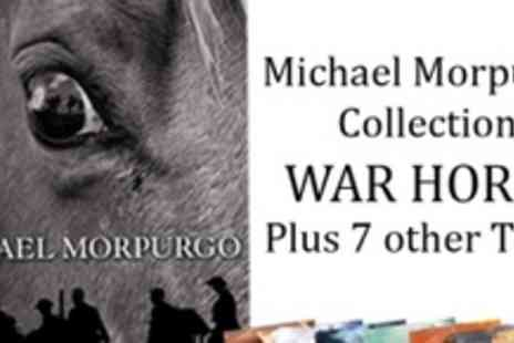 Kidsiqbooks - 8 fabulous childrens titles from Michael Morpurgo including War Horse - Save 53%
