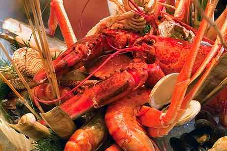 Mar Azul - Seafood Platter With a Whole Lobster and Glass of Wine For Two - Save 0%