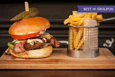 Honky Tonk - Burger or Hot Dog Meal With Cocktail - Save 51%