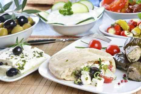Bouzouki By Night - Greek Meze Banquet and Baklava For Two  - Save 59%