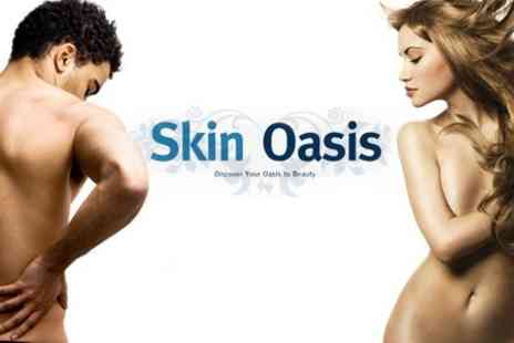 Skin Oasis - Six Laser Hair Removal Sessions on Either One Medium Area or Two Small Areas for£149 - Save 79%