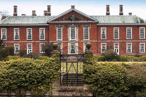 Bosworth Hall - One or Two Night B&B with a jug of pimms and strawberries on arrival and spa access - Save 0%