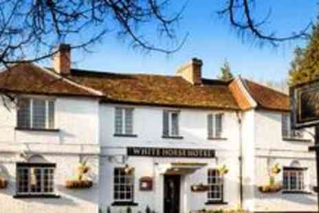 The White Horse Hotel - Two night stay for two - Save 73%