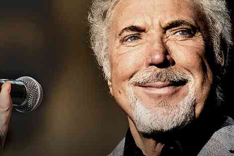 Cuffe & Taylor - Tickets to Tom Jones Live at Greenwich Music Time  - Save 0%