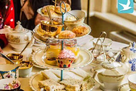 The Living Room - Vintage or Gluten-Free Afternoon Tea for Two - Save 47%