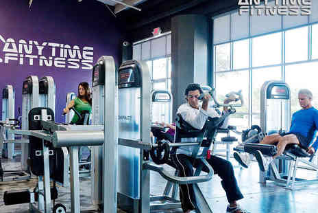 Anytime Fitness - One Month, 24 Hour Gym Pass - Save 71%