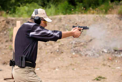 1066 Target Sports -  2½- hour firearms and safety course including precision shooting and more  -  Save 60%