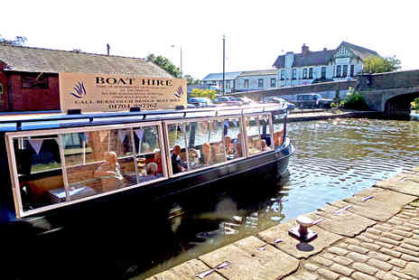 Blue Swan Boat Hire - Summer Canal Cruise with Afternoon Tea for One - Save 64%