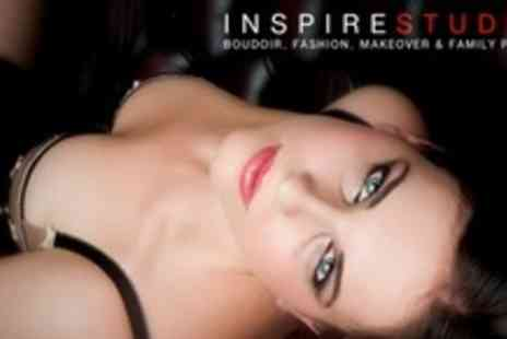 Inspire Studios - Boudoir or Couples' Photo Shoot, With Nine Prints for £19 at Inspire Studios (Up to 86% Off) - Save 86%